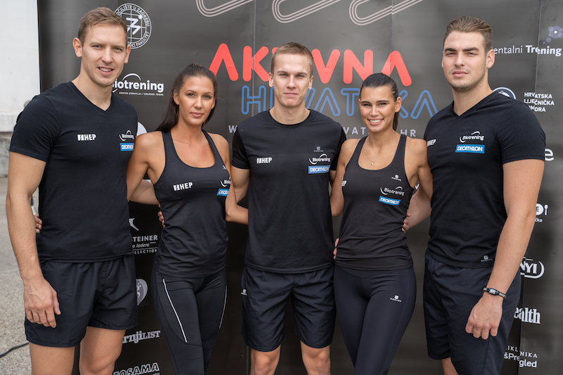 Ivan Antunovic, Tina Zivkovic, Tian Jagaric, Lukrecija Dragic, Patrik Kramaric
