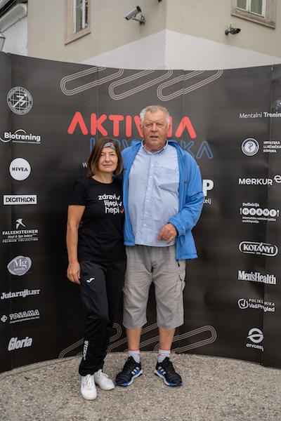Slavko Cvitkovic sa suprugom